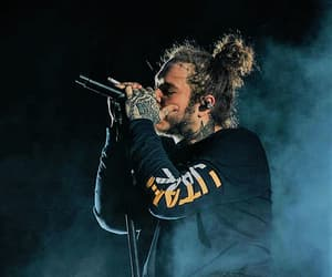 bun, post malone, and concert image