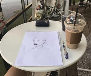aesthetic, draw, and drawing image