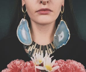 alternative, flowers, and ear weights image