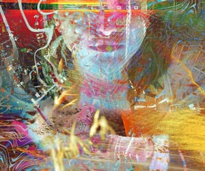 abstract, Collage, and colorful image