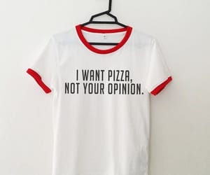 pizza and tshirt image