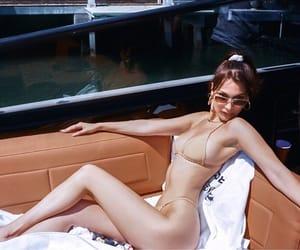 bella hadid, model, and bikini image