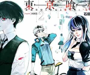 anime, manga, and touka kirishima image