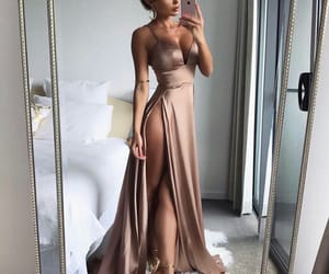 blond, clothes, and dress image