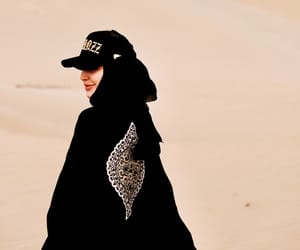 beauty, muslim, and style image