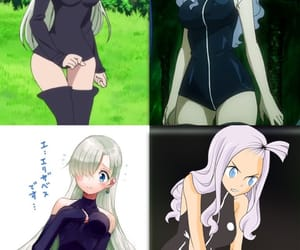 Elizabeth, fairy tail, and the seven deadly sins image