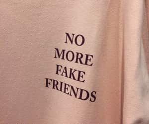 article, fake friends, and friendship image