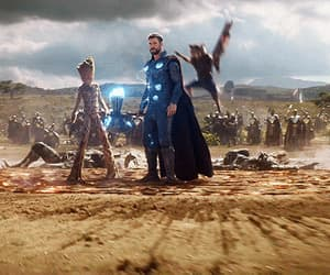 gif, Marvel, and Avengers image