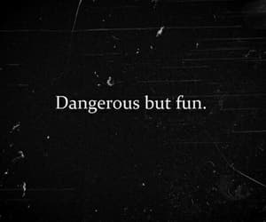 fun, dangerous, and quotes image
