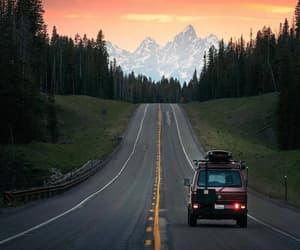 beautiful, roadtrip, and sun image