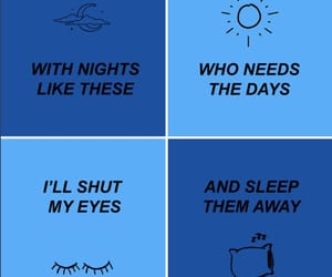 all time low, blue, and good times image