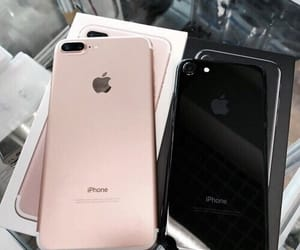 black, iphone, and rosegold image