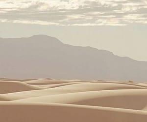 aesthetic, desert, and sand image