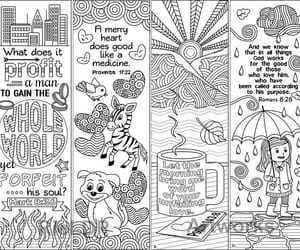 bible, doodles, and bible coloring image
