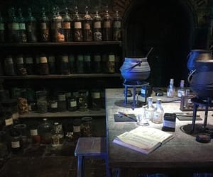cauldron, magic, and potions image