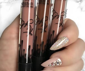 makeup, nails, and kylie jenner image