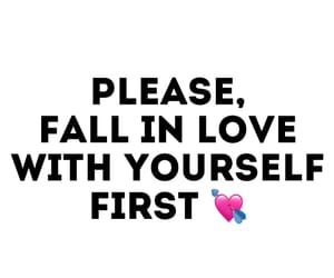 advice, falling, and falling in love image