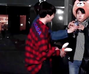 gif, jeon jeongguk, and kim taehyung image