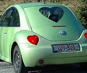 car, green, and heart image