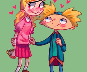 arnold, hey arnold, and love image