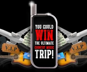 sweepstakes, contestbig, and win a country music trip image