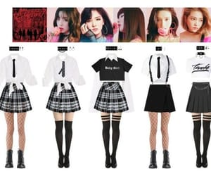 bad boy, red velvet, and uniforms image