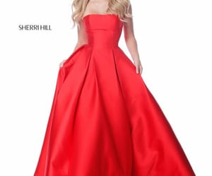 red wedding dresses and prom dresses outlet image