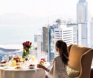 beauty, breakfast, and classy image