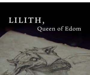dibujo, lilith, and cazadores de sombras image