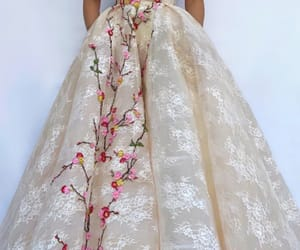 embroidery, Prom, and appliqués image