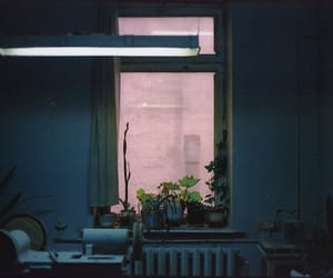 room, window, and grunge image
