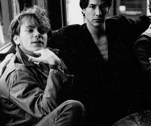 90s, keanu reeves, and river phoenix image