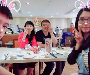 family, lunch, and b612 image