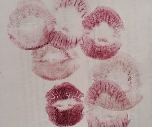 lips, lipstick, and kiss image