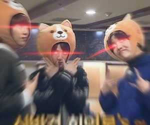 screaming, junghoseok, and kimnamjoon image
