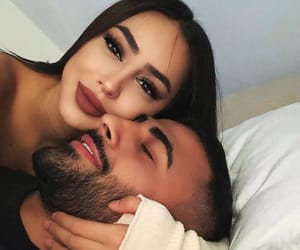 couple, makeup, and cute image