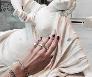 art, nails, and sculpture image