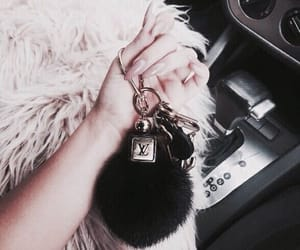 nails, car, and key image