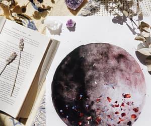 art, crystal, and drawing image