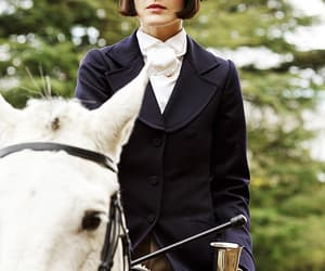 20th century, brown eyes, and downton abbey image