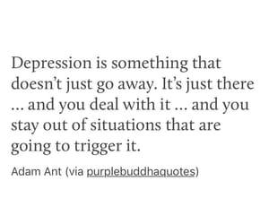 adam ant, depression, and mental illness image