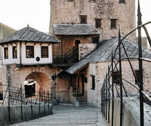 city, medieval, and mostar image