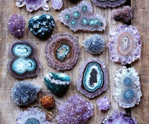 lilac, crystal, and stone image
