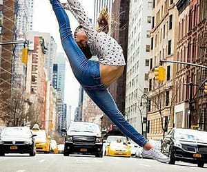 dance, girl, and new york image