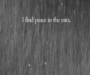 gif, rain, and peace quotes image