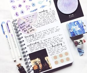 college, journal, and mine image