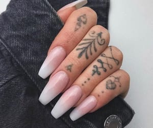 nail art, nail inspo, and girly+chic+beauty image