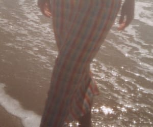 beach, checked, and clothes image