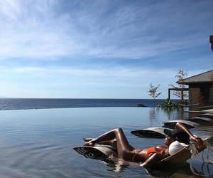 enjoy, life, and pool image