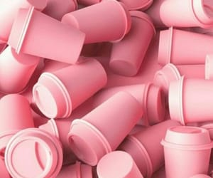 pink, cup, and aesthetic image